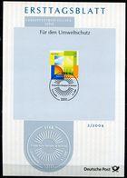 """Germany,Bund 2004 ETB 2/2004 Mi.Nr.2378""""Umweltschutz,Erneuerbare Energie,Windkraft"""" 1Big ETB - Umweltschutz Und Klima"""