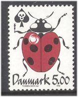 Denmark 1998 Current Topics (V): Environmental Protection. Seven-spot Ladybug, Coccinella Septempunctata Mi 1175 MNH(**) - Danemark