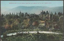 Mount Greylock, Berkshire Hills, Massachusetts, C.1905-10 - Union News Co Postcard - United States