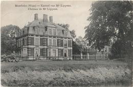 MOERBEKE WAAS Kasteel Van Mr Lippens - Moerbeke-Waas