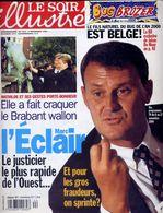 Le Soir Illustré N° 3515 Du 3 Novembre 1999 Wavre Nivelles Louvain-La-Neuve Geluck Cocker Verlipack De Moor - Collections