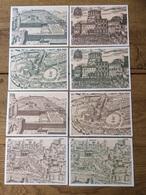 Citta Del Vaticano Vatikan Vaticane, 8 Postcards, Used - Vaticaanstad