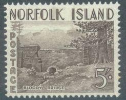 NORFOLK ISLAND - MH/* - 1953 - BLOODY BRIDGE - Yv 18 ASC 20 - Lot 17509 - Ile Norfolk