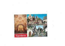 Carte Postale Eguisheim (67) Multi-vues - France