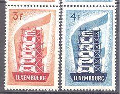 Luxembourg : Yvert N°515/516**; MNH; Europa 1956 - Luxembourg