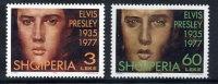 ALBANIA 1995  Elvis Presley Set Of 2   MNH / **.  Michel 2583-84 - Albania
