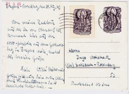1949, Privat-GA Mit Nr. 936, Portogerecht , #a733 - 1945-60 Briefe U. Dokumente