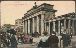 Vor Dem Brandenburger Tor, Berlin, C.1910s - Weltstadtbilder AK - Brandenburger Door