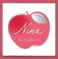 F - Carte 3 Volets Ricci - Nina - Perfume Card - USA - Modern (from 1961)