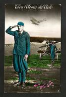 WWII - AERONAUTICA MILITARE - Viva L'Arma Del Cielo (post 1940) Aviazione - Guerra 1939-45