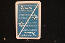 Playing Cards / Carte A Jouer / 1 Dos De Cartes Avec Publicité /    Société Mench & Co De Bruxelles, Machinefabriek - Cartes à Jouer