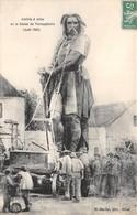 21-ALISE-SAINTE-REINE- ARRIVEE ALISE DE LA STATUE DE VERCINGETORIX AOUT 1865 - France