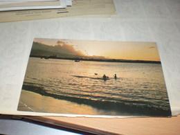 Samoan Shoreline At Sunset - Amerikanisch Samoa