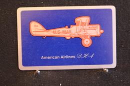 Playing Cards / Carte A Jouer / 1 Dos De Cartes Avec Publicité / U.S Mail, American Airlines - Cartes à Jouer