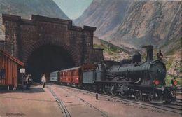 Schweiz - Göschenen - Gotthardbahn, Der Grosse Tunnel - Ca. 1920 - UR Uri