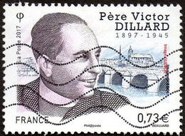 Oblitération Moderne Sur Timbre De France N° 5173 ** Religion - Père Victot Dillard - France