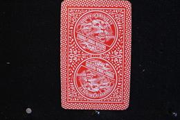 Playing Cards / Carte A Jouer / 1 Dos De Cartes Avec Publicité / Ferro-China Bisleri Milano - Speelkaarten