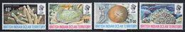 British Indian Ocean Territory 1972 Set Of Stamps To Celebrate Coral. - British Indian Ocean Territory (BIOT)