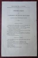 Instruction Sur L'admission Des élèves Militaires à L'école Royale Vétérinaire D'Alfort . 1838 . Général Simon Bernard . - Documents