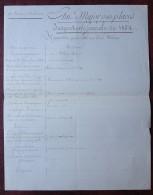 Rapport Particulier 1854 Sur Jean-Baptiste Pittaluga Né à Saint-Florent (Corse). Capitaine D'Infanterie . - Documents