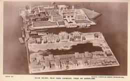 USA        308        NEW YORK.Ellis Island , New York Harbour From An Aeroplane - Ellis Island