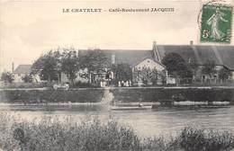21-LE CHATELET- CAFE-RESTAURANT JACQUIN - France