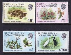 British Indian Ocean Territory 1971 Set Of Stamps To Celebrate Nature Reserve. - British Indian Ocean Territory (BIOT)