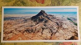 KAZAKHSTAN. Bektau Aka Peak, Aerial View - Modern  Postcard  - Euro Format - Kazakhstan