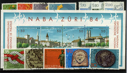 3448-Suiza Nº 1171/3, 1080/3, 1194/5, 1203/4, 1216, 1237/40, Hb24 - Suiza