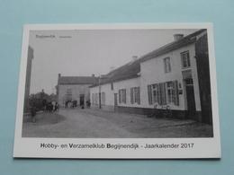 Hobby- En Verzamelclub BEGIJNENDIJK - Jaarkalender 2017 ( Zie Foto Details ) ! - Bourses & Salons De Collections
