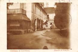 21-LANTENAY- LE CHATEAU - CARTE-PHOTO - STUDIO ET PORCHE - France