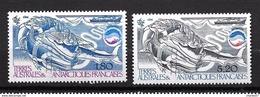 TAAF 1985: N°113/114**  Cétacés Et Kril - Ungebraucht