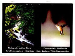 United States 2002 Postcard Photography Show For Morris & Mauchly - Vermont - Other