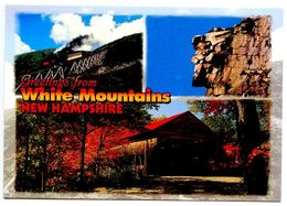 United States Modern Postcard Greetings From White Mountains, New Hampshire - White Mountains