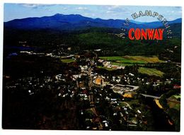 United States Modern Postcard Aerial View Of Conway, New Hampshire - United States