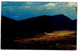 United States 1950's Postcard Mount Washington New Hampshire - Auto Road & Cog Railway - White Mountains