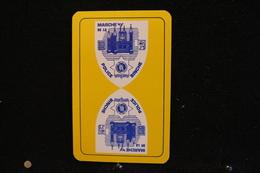 Playing Cards / Carte A Jouer / 1 Dos De Cartes Avec Publicité / Marche De La Police , Binche - Cartes à Jouer