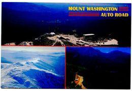 United States Modern Postcard Mount Washington, New Hampshire - Auto Road - White Mountains