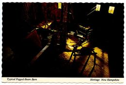 United States Modern Postcard Pegged-Beam Barn At Heritage New Hampshire - Glen NH - United States