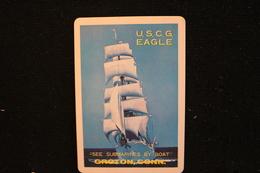 Playing Cards / Carte A Jouer / 1 Dos De Cartes Avec Publicité / Groton, Conn,  See Submarines By Boat - Cartes à Jouer