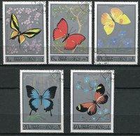 (lot 52) Oman Ob  Lot De 5 Tbres - Papillons - - Oman