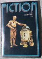 "Revue FICTION N°284, Octobre 1977, Classiques De La SF, COUVERTURE "" STAR WARS "" ! - Opta"