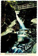 United States Modern Postcard Sabbaday Falls - White Mountains, New Hampshire - White Mountains