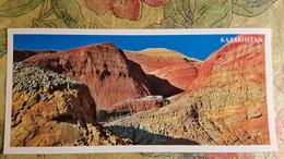 KAZAKHSTAN. Aktau Mountains - Modern  Postcard  - Euro Format - Kazakistan