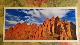 KAZAKHSTAN. River Asu Valley - Modern  Postcard  - Euro Format - Kazakhstan