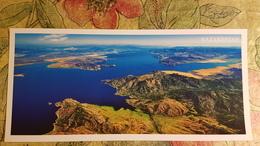 KAZAKHSTAN. Bukhtarminskoe Reservoir, Aerial View - Modern  Postcard  - Euro Format - Kazakhstan