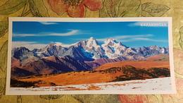 KAZAKHSTAN. Altai, Katun Range, Aerial View - Modern  Postcard  - Euro Format - Kazakhstan