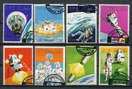 (lot 63) Oman Ob  Série De 8 Tbres -  Espace - - Oman