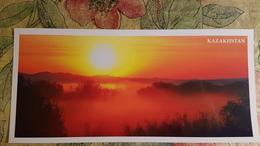 KAZAKHSTAN. Sary Arka - Modern  Postcard  - Euro Format - Kazakhstan