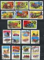 (lot 64) Oman Ob  Série De 16 Tbres - Voitures Anciennes, Trains - - Oman